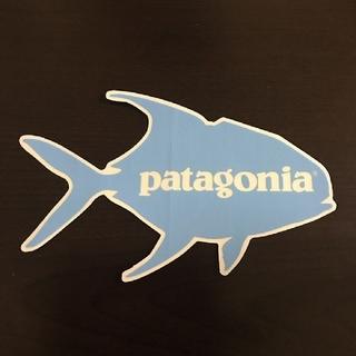 パタゴニア(patagonia)の(縦9.9cm横16.7cm)patagonia公式ステッカー(その他)