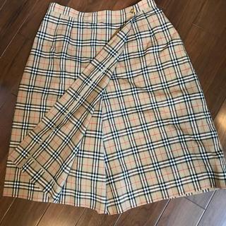 BURBERRY - バーバリーキュロットスカート15号美品