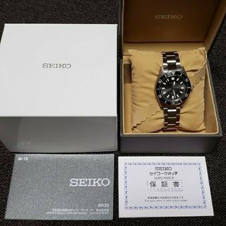 セイコー(SEIKO)のセイコー ファーストダイバー復刻 SBDC101 チャコールグレー(腕時計(アナログ))
