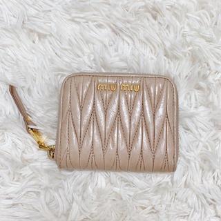 miumiu - miumiu マテラッセ 2つ折り財布