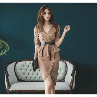 【本日限定セール】DURAS系韓国ファッション♡キャバドレス  ウエストベルト付