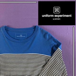 uniform experiment - 【美品】uniform experiment tシャツ ボーダー