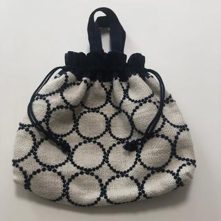 ミナペルホネン(mina perhonen)のミナペルホネン 巾着 バッグ(ハンドバッグ)