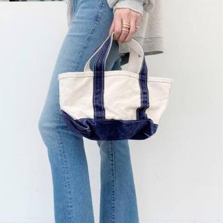 L'Appartement DEUXIEME CLASSE - アパルトモン【エル・エル・ビーン 】Canvas tote bag mini