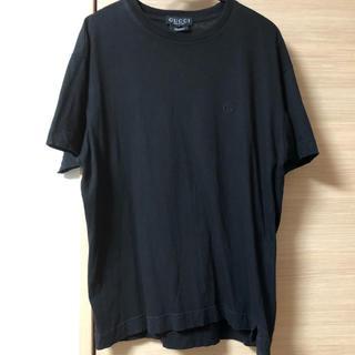 グッチ(Gucci)のグッチ*Tシャツ(ブラック、レディースMサイズ)used(Tシャツ(半袖/袖なし))