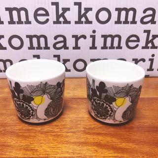 マリメッコ(marimekko)の新品レア限定 マリメッコ  100周年記念 シイルトラプータルハ ラテマグ (グラス/カップ)
