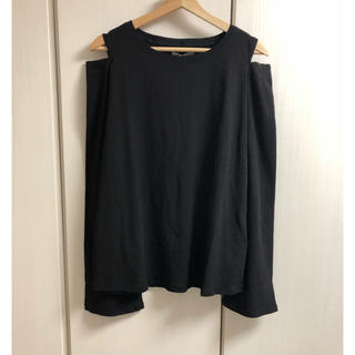アングリッド(Ungrid)の新品 オープンショルダーロングスリーブTee(Tシャツ(長袖/七分))