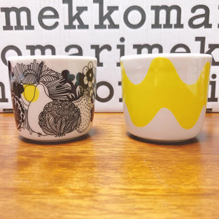 marimekko - 新品レア限定 マリメッコ  シイルトラプータルハ ロッキ ラテマグセット