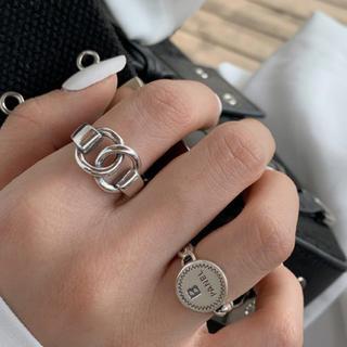 Ameri VINTAGE - シルバー リング ごつめ クール 派手 シンプル きれいめ フリー 指輪