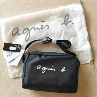 agnes b. - 新品⭐アニエスベー  サコッシュショルダーバッグ男女兼用ブラック