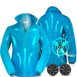 空調服 空調ウェア 作業服 エアコン服 薄手 扇風服 (ブルゾン)