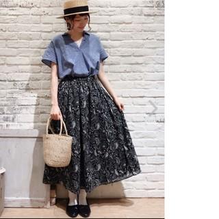 SM2 - サマンサモスモス ペイズリー柄ギャザースカート