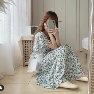 fifth - fifth 新品 カシュクールフラワーワンピース ♡