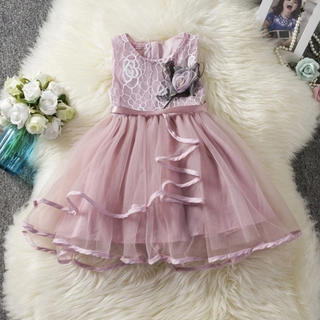 新品 キッズドレス ピンク 100㎝