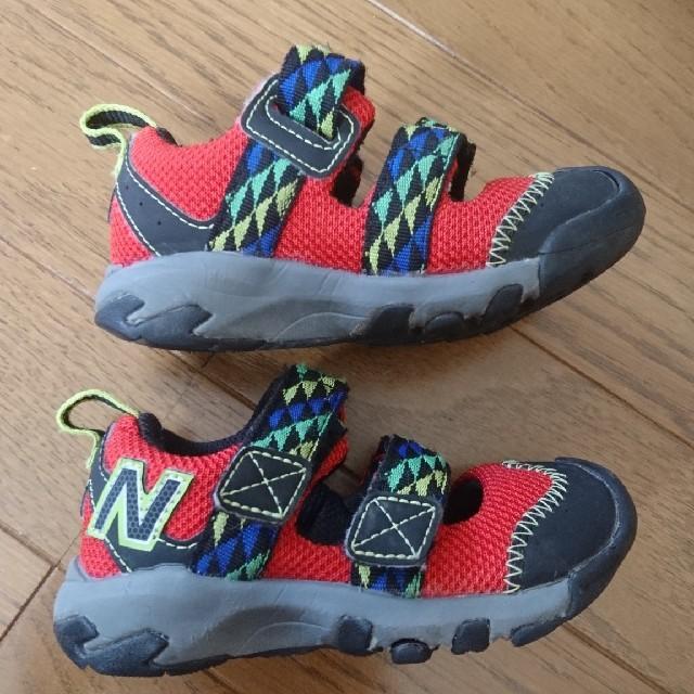 New Balance(ニューバランス)のnew balance 14㎝ サンダル キッズ/ベビー/マタニティのベビー靴/シューズ(~14cm)(サンダル)の商品写真