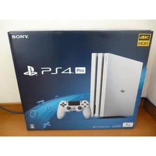 PS4 Pro♪CUH-7200B B02♪1TB♪グレイシャーホワイト♪プレイ