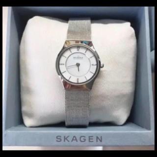 SKAGEN - 腕時計 スカーゲン 美品  シルバー