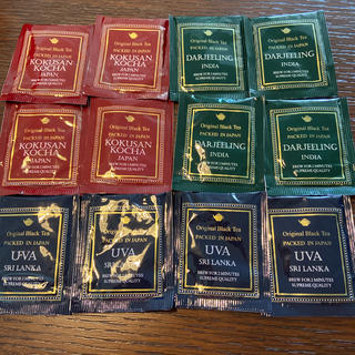 紅茶 ティーバッグ 3種類12袋