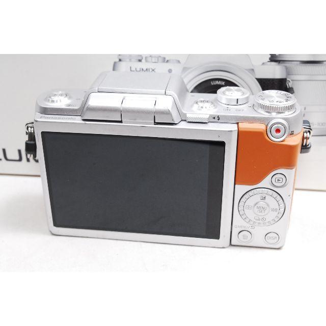 Panasonic(パナソニック)の♡WiFi&自撮り♡パナソニック GF7♪レンズキットブラウン スマホ/家電/カメラのカメラ(ミラーレス一眼)の商品写真