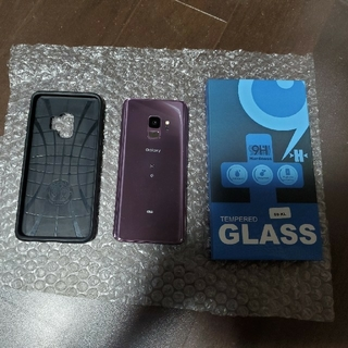 Galaxy - 【良品】Galaxy S9 Lilac Purple au版SIMフリー