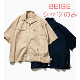 BEAMS - A.H × SSZ ワークシャツ beige ベージュ