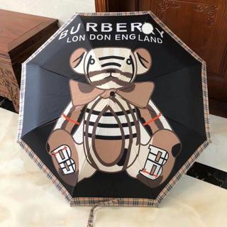 BURBERRY - 日傘 一級遮光 UVカット率100% 晴雨兼用