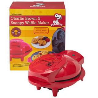 ピーナッツ(PEANUTS)のスヌーピー チャーリーブラウン ワッフルメーカー(調理道具/製菓道具)
