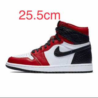 NIKE -  AIR JORDAN 1 HIGH OG SATIN RED CHICAGO
