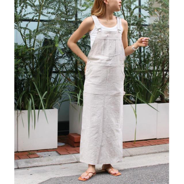 TODAYFUL(トゥデイフル)のレッドチョップワークス リネンジャンパースカート レディースのパンツ(サロペット/オーバーオール)の商品写真