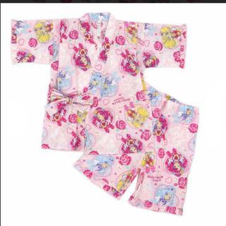 バンダイ(BANDAI)のヒーリングっど プリキュア光る甚平 ピンク110(甚平/浴衣)