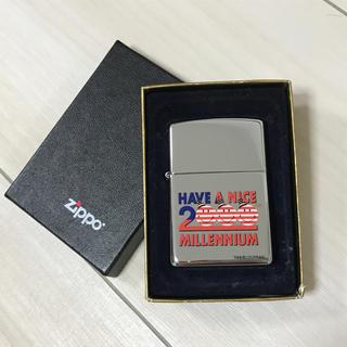 ジッポー(ZIPPO)のzippo 2000 ミレニアム 未使用(タバコグッズ)