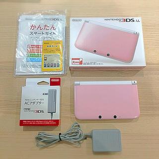 ニンテンドー3DS - 値下げ⭐︎Nintendo 3DS  LL 本体ピンク⭐︎すぐ遊べるポケモンサン