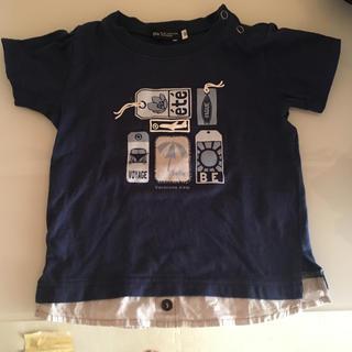 ベベ(BeBe)のBE BE重ね着風Tシャツ 80センチ(Tシャツ)