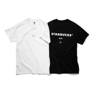 スターバックスコーヒー(Starbucks Coffee)の白 L Starbucks fragment スターバックス Tシャツ(Tシャツ/カットソー(半袖/袖なし))