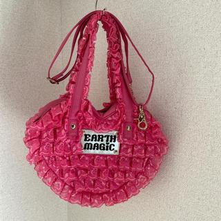 アースマジック(EARTHMAGIC)のアースマジック バッグ 鞄  レース   斜めがけ トート(ポシェット)