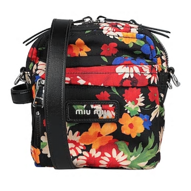 miumiu(ミュウミュウ)の【MIU MIU】花柄 クロスボディバック  レディースのバッグ(ショルダーバッグ)の商品写真