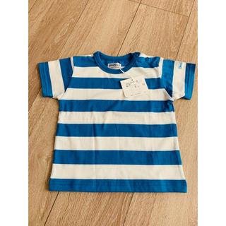 ベベ(BeBe)の新品未使用タグ付き べべ ボーダー 半袖 Tシャツ(Tシャツ)