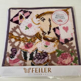 FEILER - フェイラー🌟イングリッシュティーパーティハンカチ③