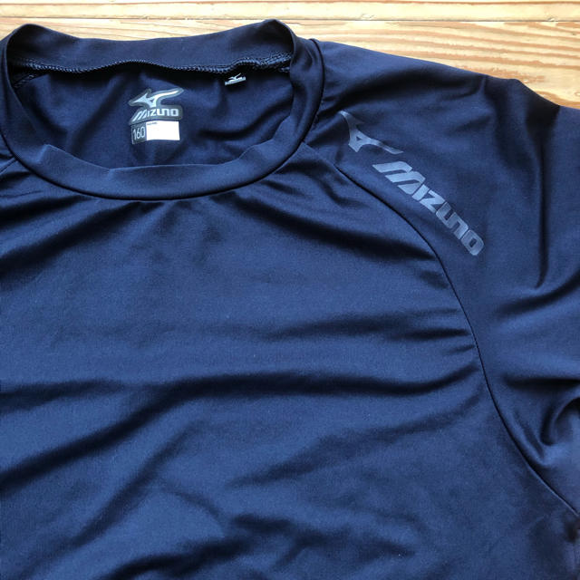 MIZUNO(ミズノ)のMIZUNO アンダーシャツ 半袖 160 ネイビー スポーツ/アウトドアの野球(ウェア)の商品写真