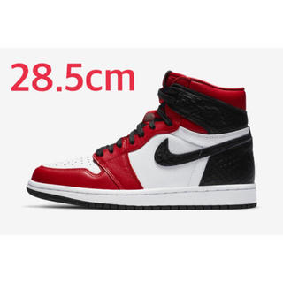 NIKE - AIR JORDAN 1 Satin Red W28.5cm M27.5〜28