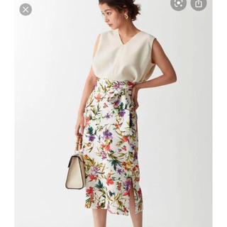 UNITED ARROWS - [エメルリファインズ]花柄スカート