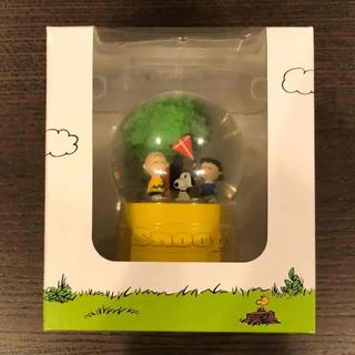 SNOOPY - 限定!【新品・未開封】スヌーピーミュージアム ウォータードーム 凧食いの木C