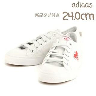 adidas - 【24.0cm】新品 アディダス NIZZA TREFOIL W   ニッツァ