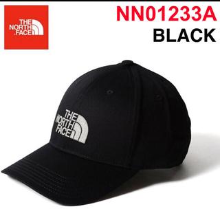 ザノースフェイス(THE NORTH FACE)のTHEノースフェイス ロゴ キャップ NN01233A ブラック 新品(キャップ)