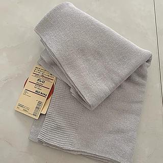 ムジルシリョウヒン(MUJI (無印良品))の無印良品 UVカット フレンチリネンボレロ ライトグレー(ボレロ)