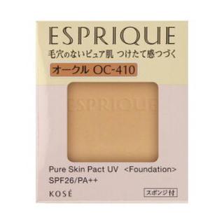 ESPRIQUE - エスプリークピュアスキンパクトUV オークル410