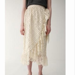 moussy - ◆ ◆マウジー 未使用タグ付き LACE RUFFLE WRAP スカート