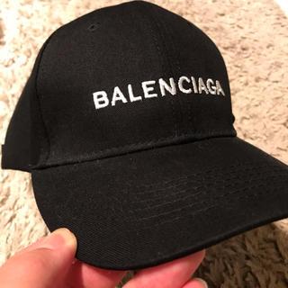 Balenciaga - BALENCIAGA キャップ 黒
