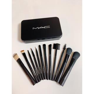 MAC - MAC ブラシ12本入り 缶ケース