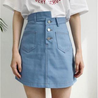 GOGOSING - G290新品*)gogosingアンバランススカート